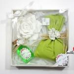 nişan hediye seti yeşi pembe