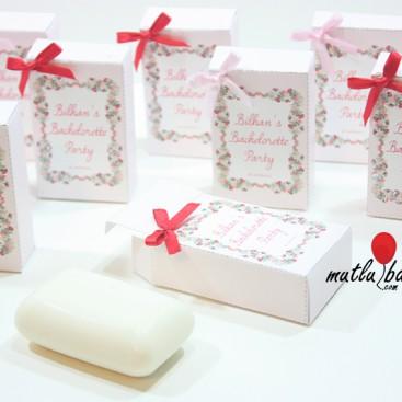 baskılı kutulu sabun